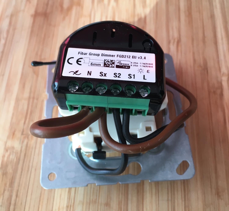 Installing A Z-wave Dimmer